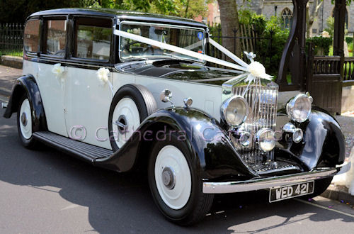 Cathedral Cars Vintage 1935 Rolls Royce 20 25
