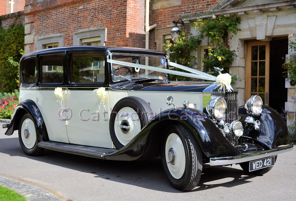 Cathedral Cars - vintage Rolls Royce Wedding Car in Eastleigh, Fair ...